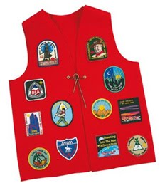 Red Scout Vest